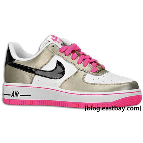 buy online 32c3b 9f19b Nike Air Force 1 Low Kids - White/Black-Gold | Eastbay Blog ...