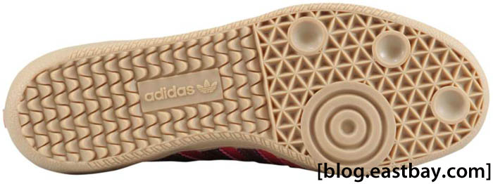 adidas Originals Women's Samba Leather Sharp Red Pink Metallic Zero Metallic G22476 E