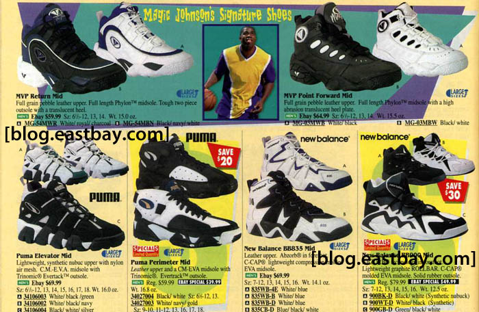 reputable site ed9b4 3ea21 Eastbay Memory Lane: 20th Anniversary Of Magic's Retirement ...