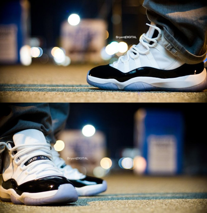 Sole Shots: Air Jordan XI Concord – BryantDIGITAL