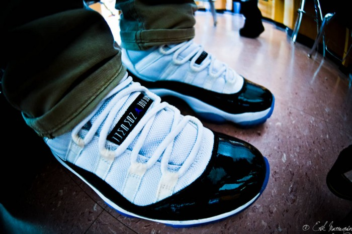 Sole Shots: Air Jordan XI Concord – Erik Marroquin