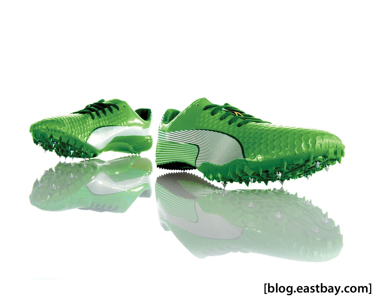 Wallpaper: Usain Bolt's New PUMA Faas 007 Spikes | Eastbay ...