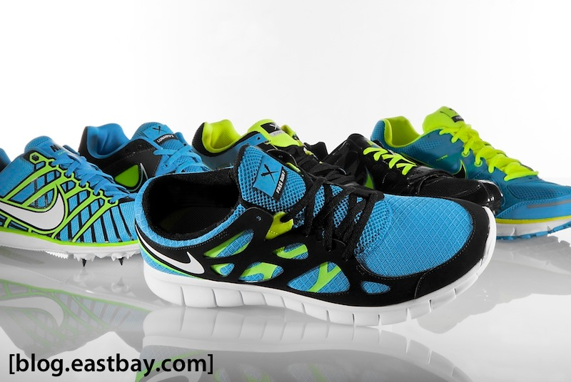 Available now: Nike Free Run 2 – Blue Glow/Black-Volt