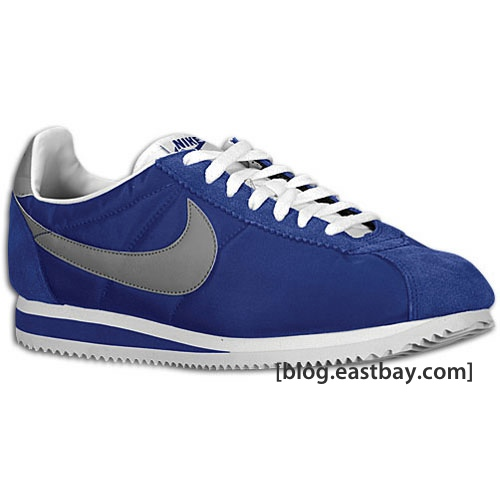 official photos c3b6f 4b2f7 Available now  Nike Cortez Nylon – Deep Royal White