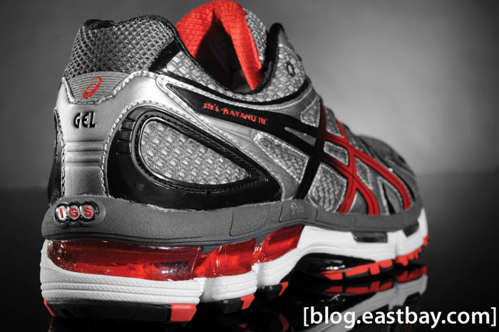 ASICS GEL Kayano 18 - Lightning Flame Black (2)