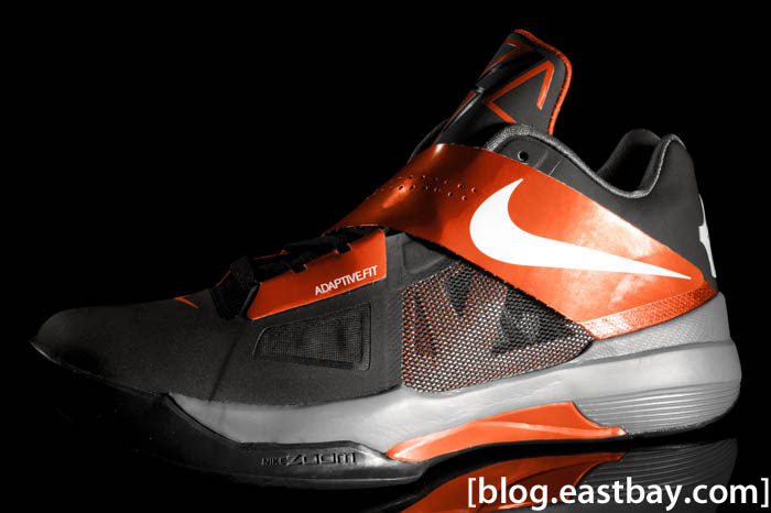 Nike Zoom KD IV Black Team Orange 473679-005 (1)