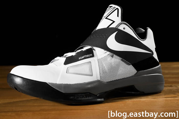 Nike Zoom KD IV White Black Cool Grey White 473679-101 (1)