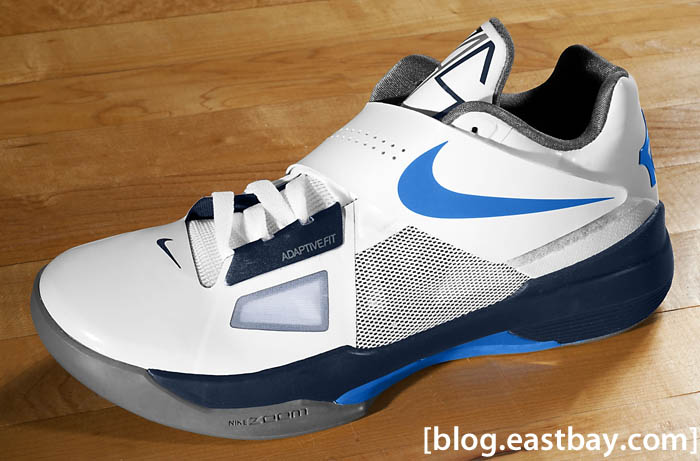 7a593ead4be1 Nike Zoom KD IV White Midnight Navy Cool Grey Photo Blue 473679-100 (1