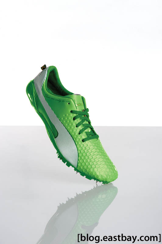 PUMA Bolt FAAS 007 LTD Classic Green White Usain Bolt Spikes (3)