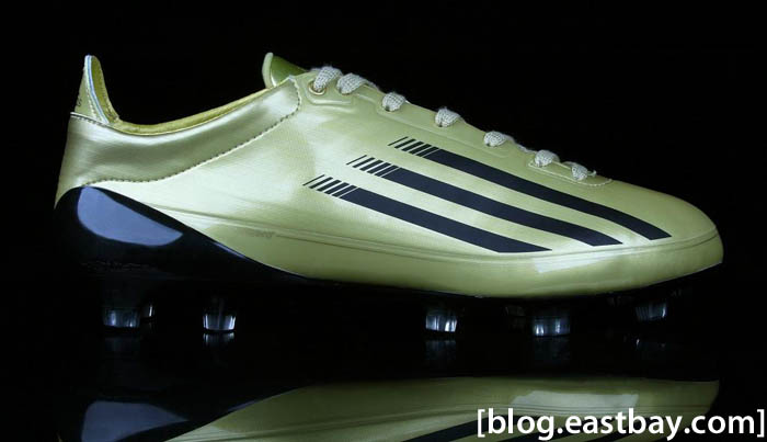 adidas adiZero 5-Star Low Combine Gold Robert Griffin III Football Cleats