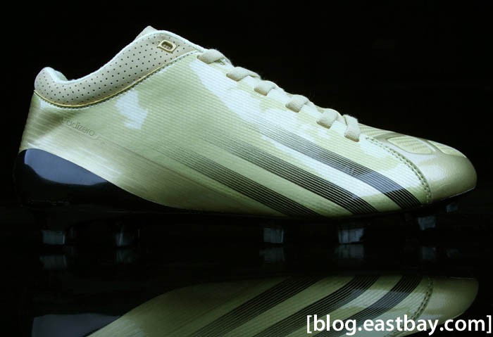 adidas adiZero 5-Star Mid Combine Gold Robert Griffin III Football Cleats