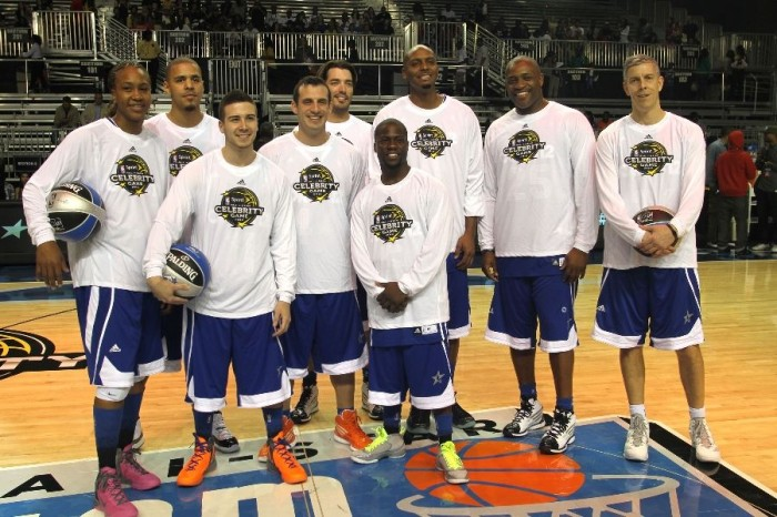 2012 NBA All-Star Celebrity Game East Team