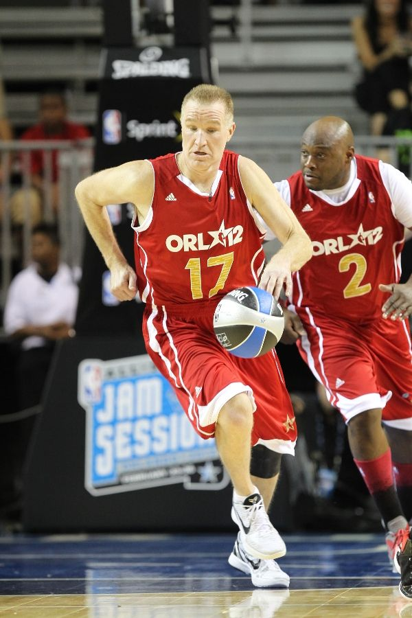 Chris Mullin wearing Nike Zoom Kobe VI