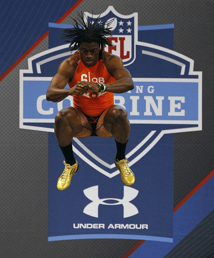 Robert Griffin III Runs Impressive 40 at NFL Combine in adidas adiZero 5-Star Cleats (4)