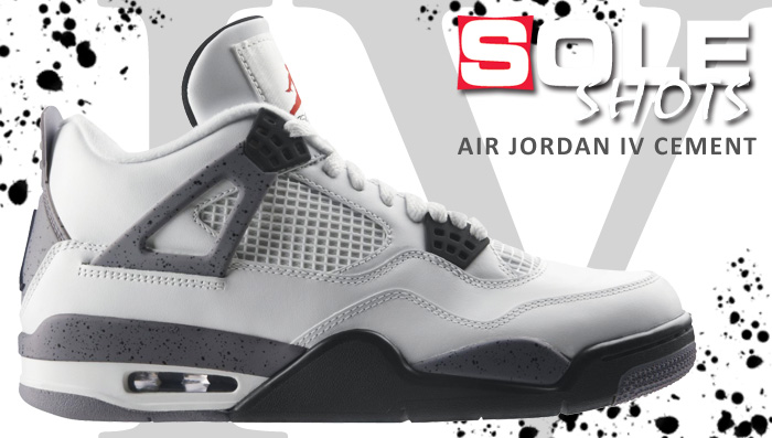 Sole Shots: Air Jordan 4 Cement Spotlight