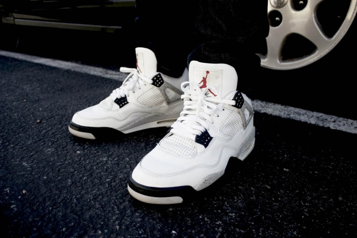 Sole Shots: Air Jordan 4 Cement Spotlight – J. Sumera