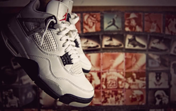 Sole Shots: Cement Air Jordan 4 IV Spotlight – JuKeBox