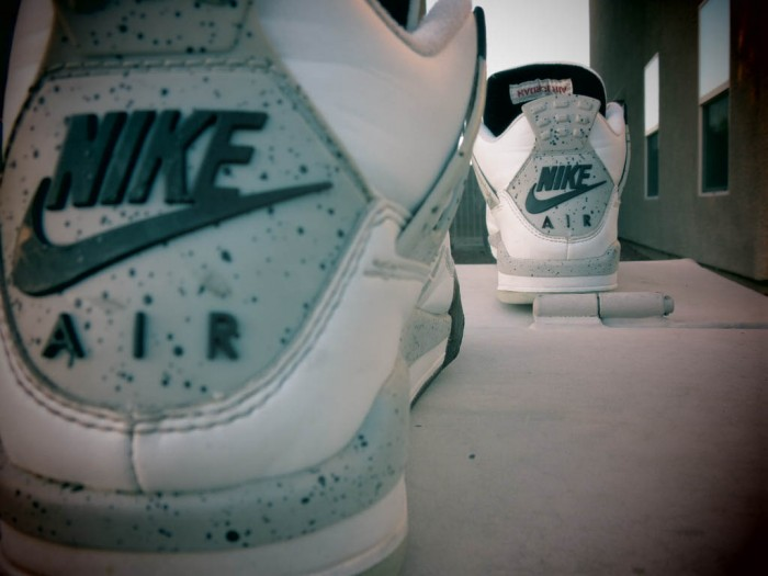 Sole Shots: Air Jordan 4 Cement Spotlight – Vinnie Curioso