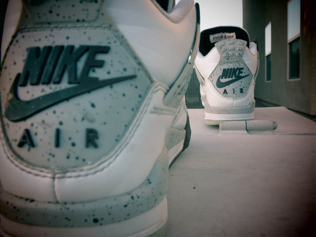 a5ac7090adb80d ... white cement with it ba3eb fd1e8  coupon for buggin out air jordan 4  dceec a72fd