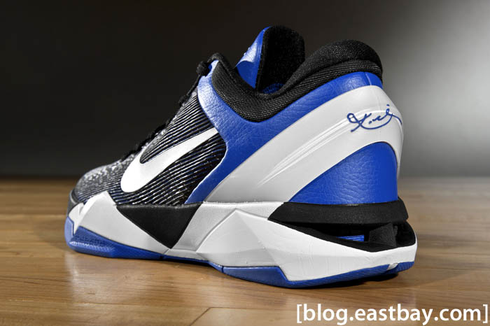 the latest 0cf56 474bd Nike Kobe VII 7 Duke Shoes Treasure Blue White Black 488371-400 (2)