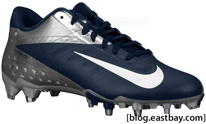Nike Vapor Talon Elite Low Navy White Chrome 550068-410