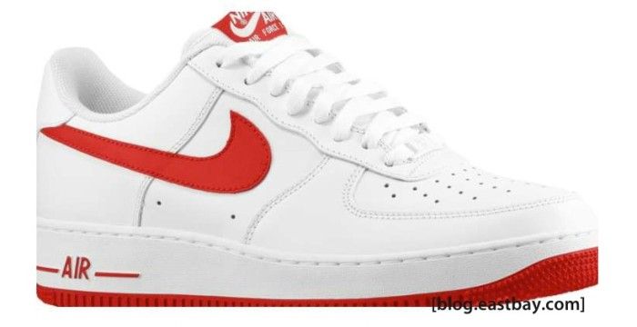 the latest ba299 a1c1c Available  Nike Air Force 1 Low – White Gym Red