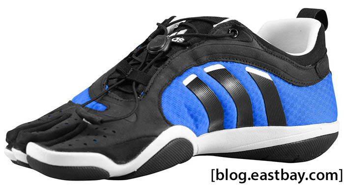 1b2849a8b0a adidas adiZero Barefoot Trainer Lace Prime Blue Black Running White (2)