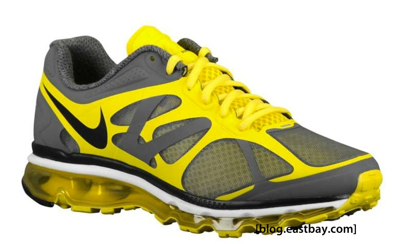 Nike Air Max 2012 Dark GreyChrome Yellow | Eastbay Blog