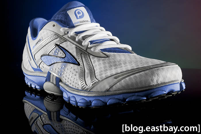 Brooks Pure Cadence White Deep Royal Silver (1)
