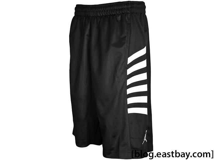 Jordan Retro 12 Rays Short Black White – Playoffs