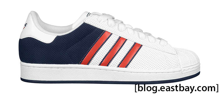 adidas Originals Superstar Lite - Americana Pack White Navy Red G56826