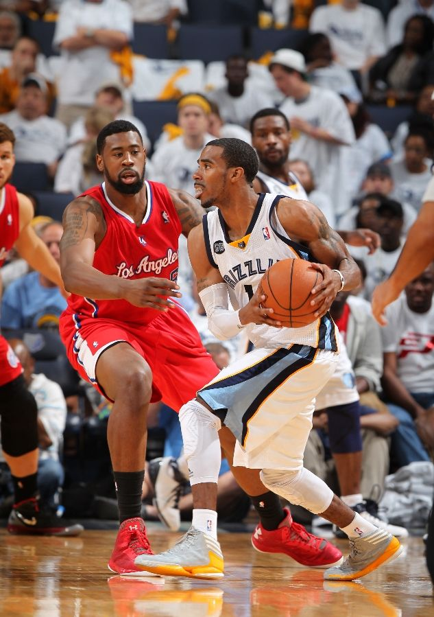 Mike Conley wearing adidas adiZero Crazy Light 2