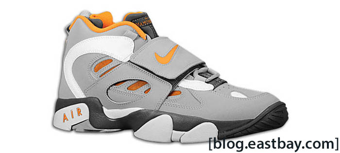Nike Air Diamond Turf II Dark Grey Wolf Grey Vivid Orange 487658-080