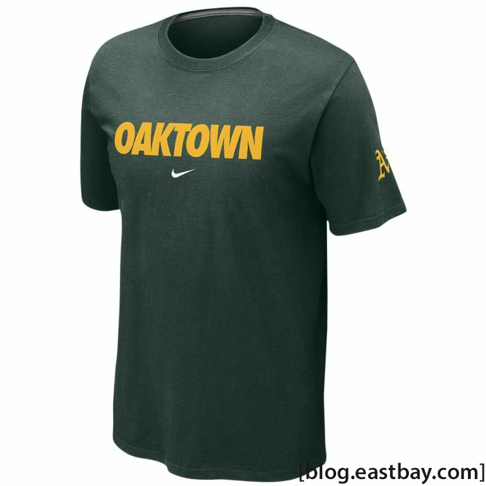 Nike MLB Local T-Shirt 12 Oakland Athletics