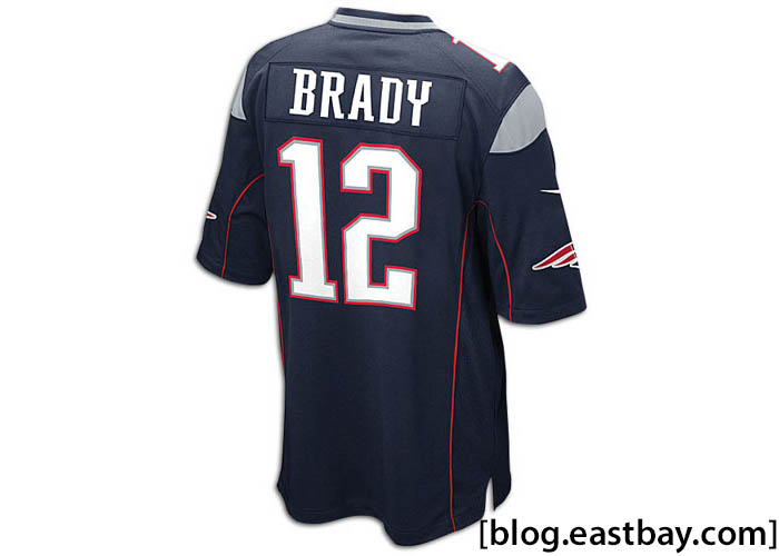 Nike NFL Game Day Jersey - New England Patriots Tom Brady