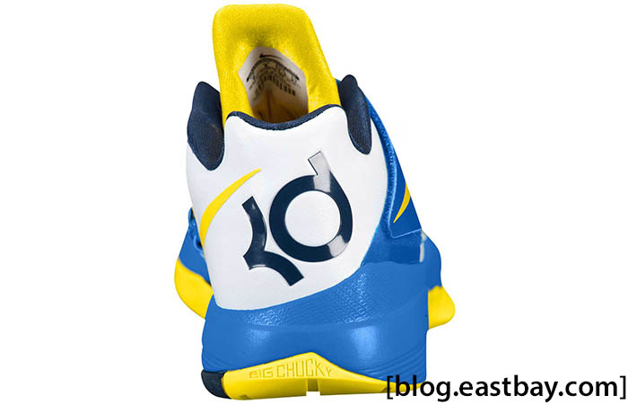 quality design 96ec5 5d75b Nike Zoom KD IV White Photo Blue Midnight Navy Tour Yellow 473679-102 (3