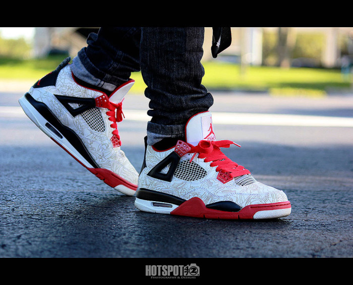 Sole Shots // Air Jordan IV 4 Spotlight – hotspot472