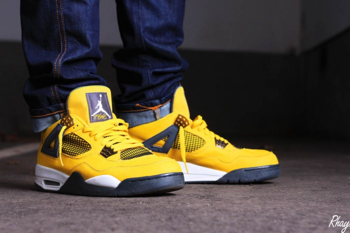 Sole Shots // Air Jordan IV 4 Spotlight – Rhay Garrett