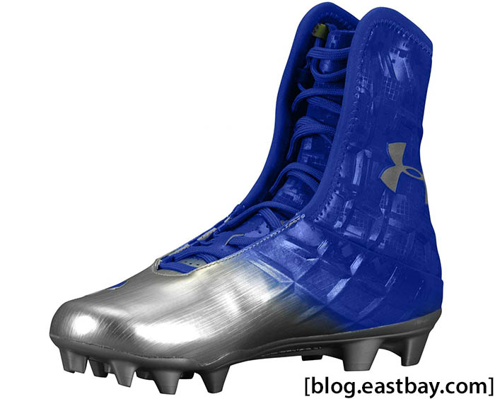 Under Armour Highlight MC Process Royal Silver