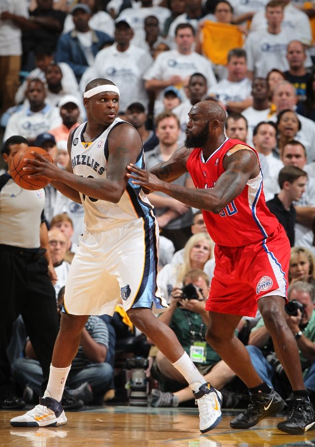 Zach Randolph wearing Nike Air Max Fly By