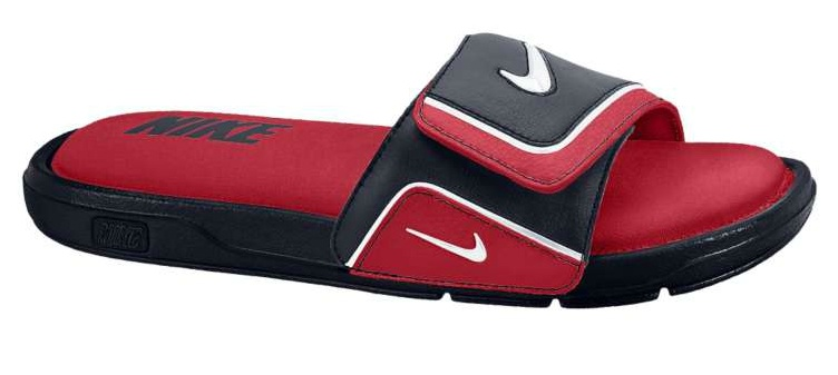 a24a4f4847e4 Available  Nike Comfort Slide 2 – Gym Red Obsidian-White