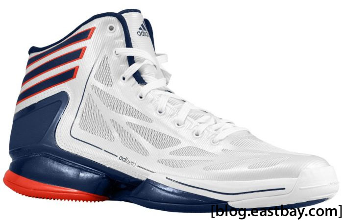 Great Adidas AdiZero Crazy Light 2 USA White Navy Light Scarlet G48805 (1) Nice Design