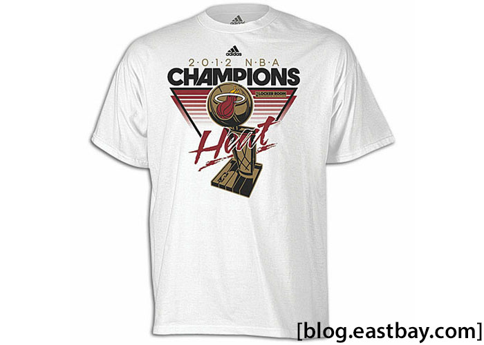 adidas Miami Heat NBA Locker Room Championship T-Shirt