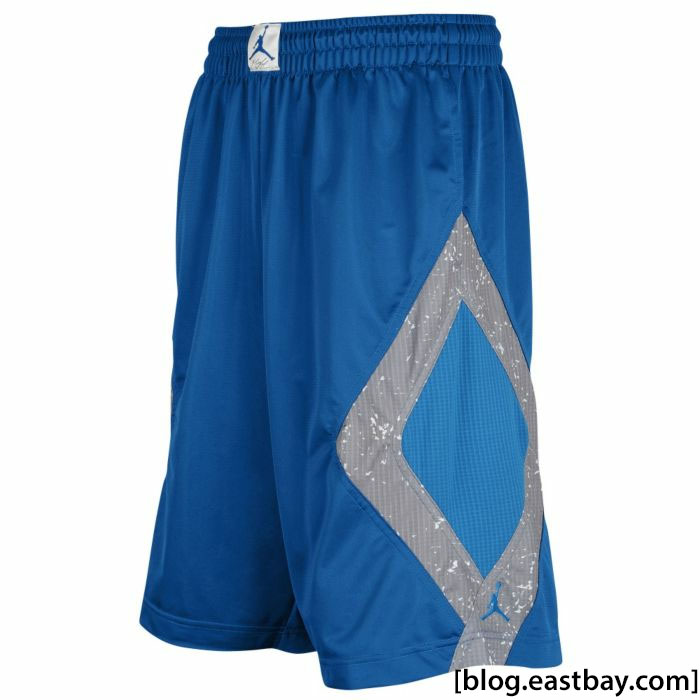 Air Jordan Retro 4 Caged Up Shorts Military Blue