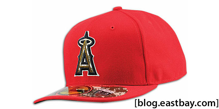 New Era 59FIFTY Stars & Stripes Cap - Los Angeles Angels