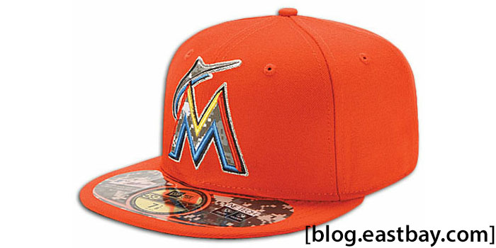 New Era 59FIFTY Stars & Stripes Cap - Miami Marlins