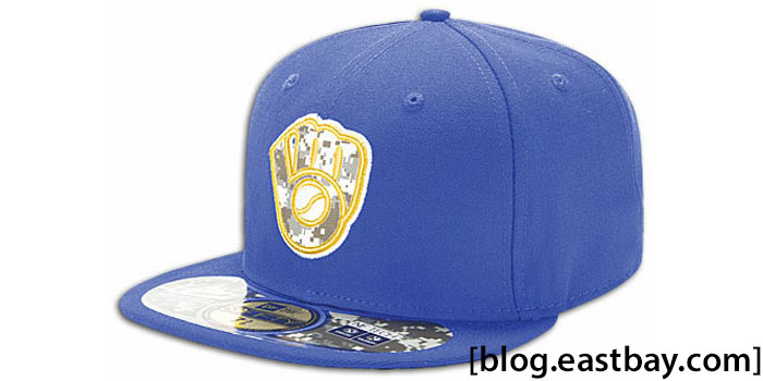 New Era 59FIFTY Stars & Stripes Cap - Milwaukee Brewers