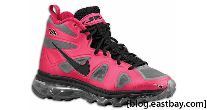 Nike Air Max Griffey Fury GS Voltage Cherry Black Grey 501827-600