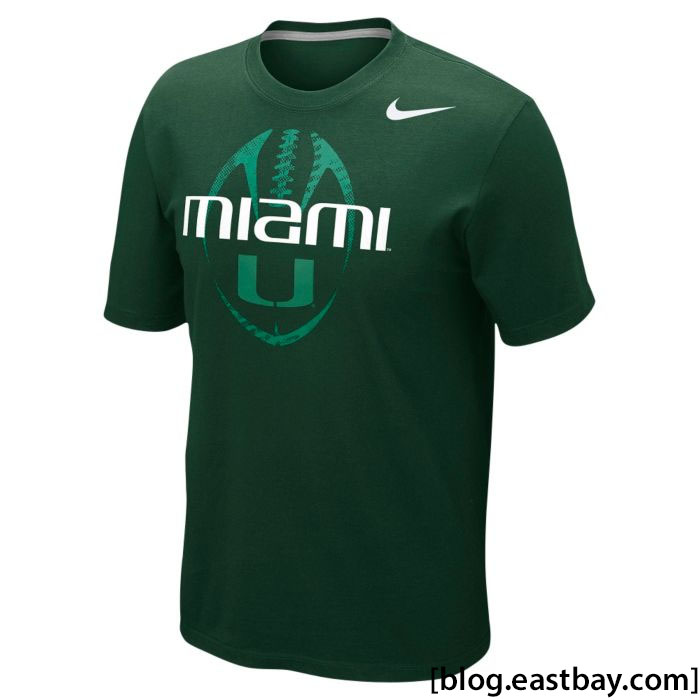 Nike College Team Issue T-Shirt - Miami Hurricanes