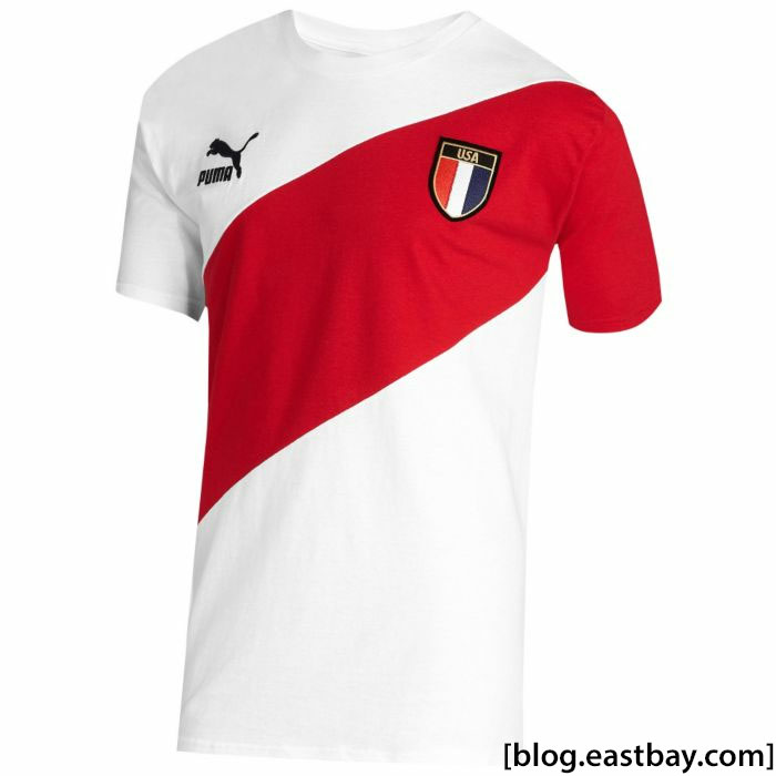 Available: PUMA Country Badge Short Sleeve T-Shirt
